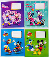 Комплект зошитів Міцар Ц697017У скоба 18 арк лінія Mickey Mouse 20 шт 268425, КОД: 902433