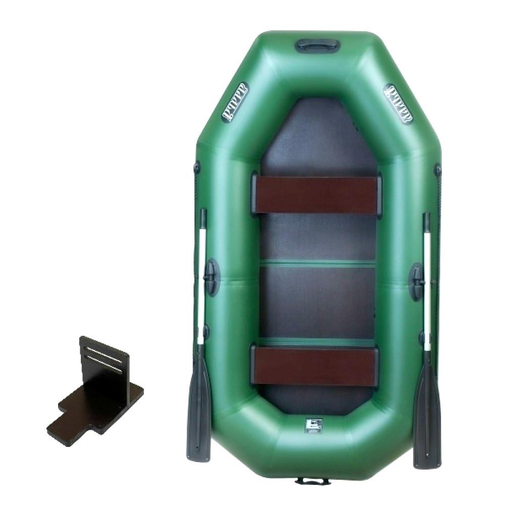 Надувная лодка Ладья ЛТ-250-ЕВТ со слань-книжкой