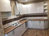 Кухня белая глянцевая по индивидуальному поекту ViAnt, Киев и область, фото 1