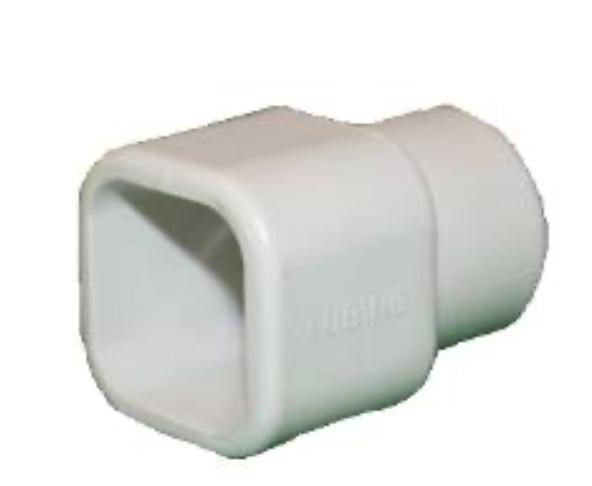 Переходник с 25 мм для линии поения к трубе 22х22
