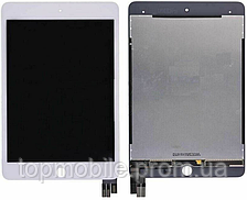 Модуль iPad mini 5 (A2124A2126/A2133) белый, оригинал (Китай) (дисплей, стекло)