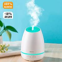 Увлажнитель воздуха BASEUS Creamy-white Aroma Diffuser White, портативный ночник, белый, зволожувач повітря