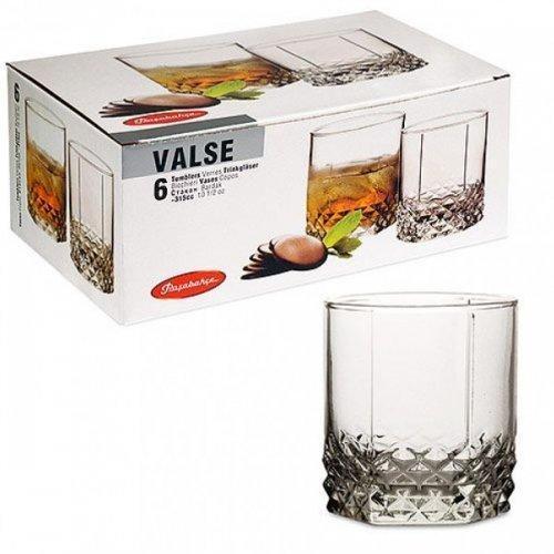 Набор стаканов виски в подарочной упаковке Pasabahce Вальс 320мл*6шт (42945)