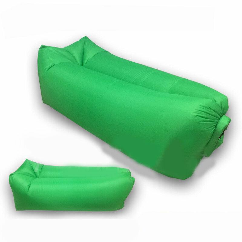 Надувной гамак-ламзак 190х90 см (зелёный)