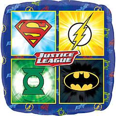 "Фол шар Anagram 18"" Квадрат Эмблемы супергероев Justice League (Анаграм)"