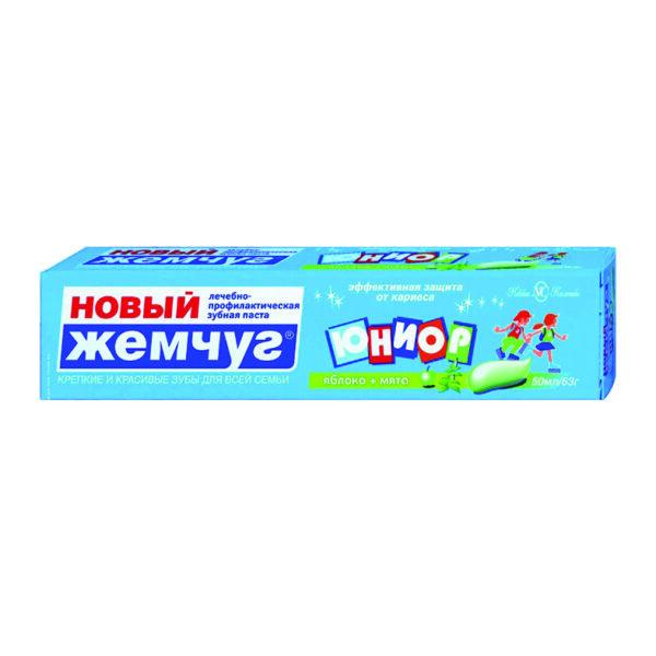 Детская зубная паста Новый жемчуг «Юниор» 50 мл.