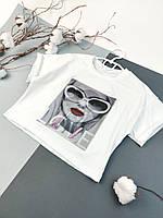 Детская футболка для девочки 122