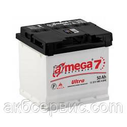 Акумулятор автомобільний A-mega 6СТ-50 АзЕ Ultra