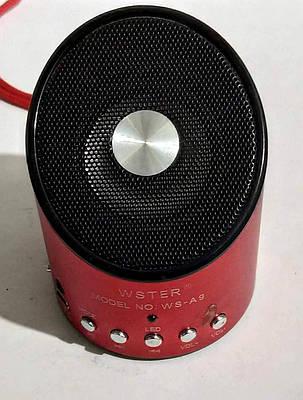 """Портативна Bluetooth колонка """"Q10"""" Red, фото 2"""