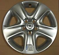 Колпак (крышка) стального колёсного диска (1002187) 6.5J X 16 (ИДЕНТ. AADP) 5 отверстий для крепления GM 1006296 13337257 OPEL Astra-H Zafira-B