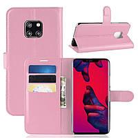 Чехол-книжка Litchie Wallet для Huawei Mate 20 Pro Pink