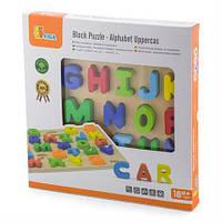 Английский алфавит для детей Viga Toys, детский набор для обучение, набор букв на английском, изучение букв