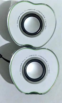 """Колонки USB """"ZT-102"""" Green, фото 2"""