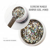 Lukum Nails Shine Gel № 003 5мл