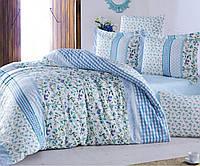 Комплект постельного белья двухспальный евро (240х260) фабричное турецкое 100% хлопок РАНФОРС First Choice