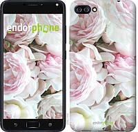 Пластиковый чехол Endorphone на Asus ZenFone 4 Max ZC554KL Пионы v2 2706m-1035-26985, КОД: 1756557