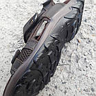 Сандалии мужские кожаные р.43 коричневые Nike, фото 7
