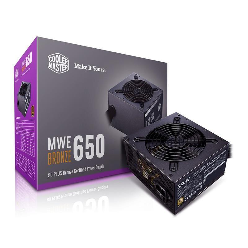 Блок питания CoolerMaster MWE 650 Bronze V2 650W (MPE-6501-ACAAB-EU)