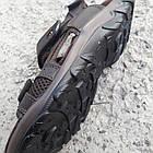 Сандалии мужские кожаные р.44 коричневые Nike, фото 7