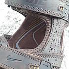 Сандалии мужские кожаные р.45 коричневые Nike, фото 6
