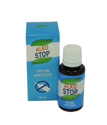 Alko Stop - Капли от алкоголизма (АлкоСтоп), 30 мл