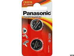 Літієва батарейка Panasonic Lithium Power CR-2016EL/2B блістер 4 шт