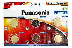 Литиевая батарейка Panasonic Lithium Power CR-2016EL/6BP блистер 6 шт.