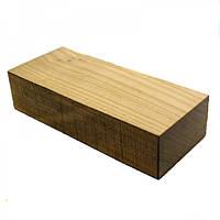 Брусок для рукоятки ножа деревина Черешня 125х50х29