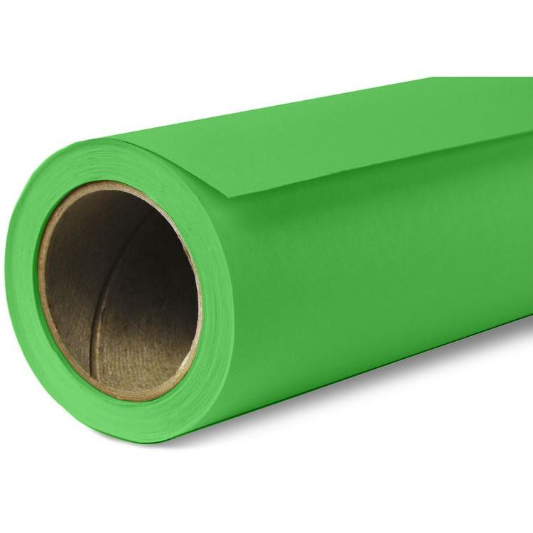 1,35х10м Фон бумажный  ХРОМАКЕЙ зеленый в рулоне Visico Chroma Green