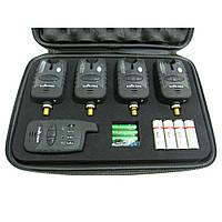 Набор сигнализаторов поклевки с пейджером 4+1 SF23657