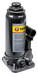 Topex 97X035 Домкрат гидравлический бутылочный, 5 т, 215-445 мм