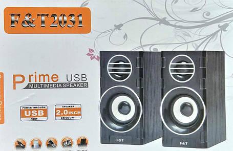 """Колонки USB """"T2031"""", фото 2"""