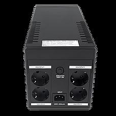 ИБП линейно-интерактивный LogicPower LPM-1100VA-P(770Вт), фото 3