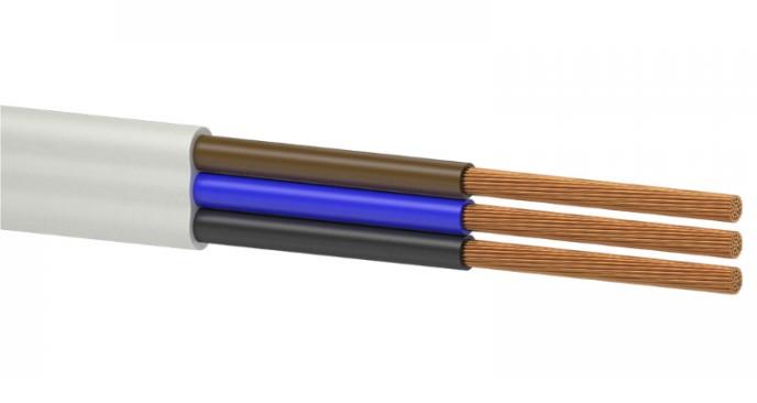 Силовой кабель провод шнур ШВВПн 3x 4.0 Одескабель ГОСТ