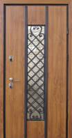 Двери входные металлические Пруф Hook Nvd Классе винорит Дуб золотой 850