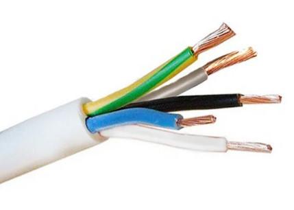 Силовой кабель провод шнур ПВС  5* 1.0 Одескабель ГОСТ