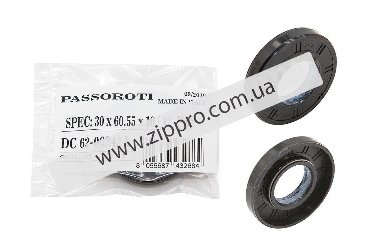 Сальник для стиральной машины 30*60,55*10/12 (Passoroti - Италия) (оригинальная упаковка)