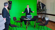 1,35х10м Фон паперовий ХРОМАКЕЙ зелений у рулоні Visico Chroma Green, фото 4
