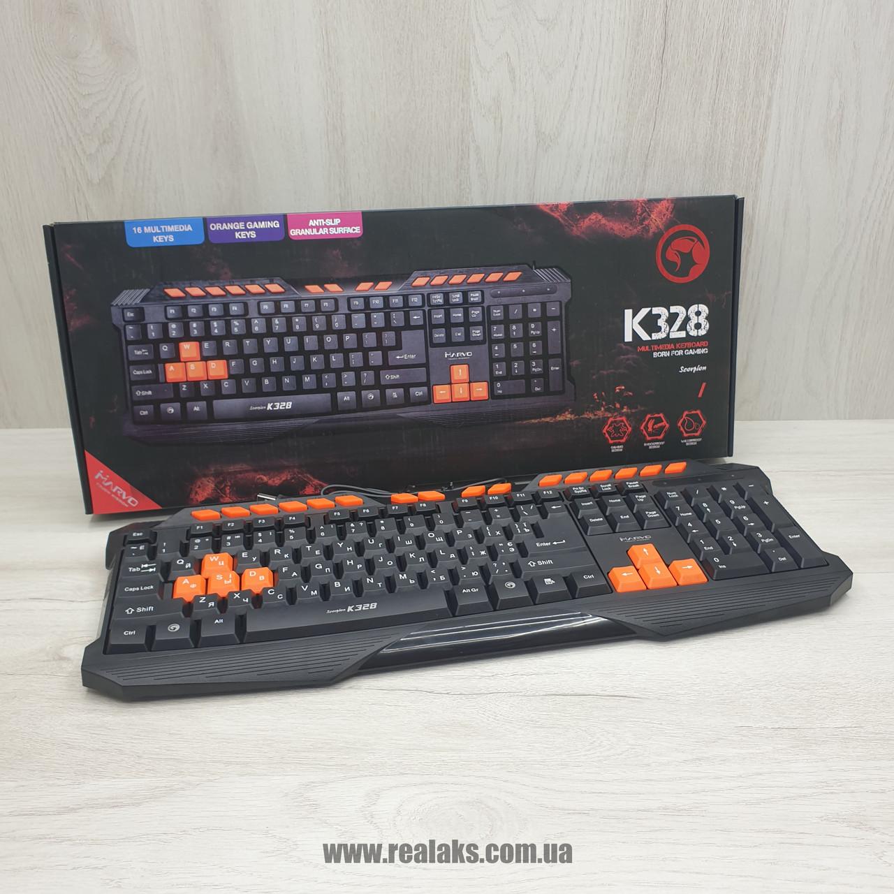 Клавиатура MARVO K328 Scorpion (Black)
