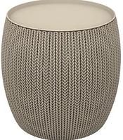 Стол-сундук Knit (Cozies) Table, бежевый