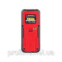 Дальномер лазерный 60м, цветной дисплей INTERTOOL MT-3086, фото 3