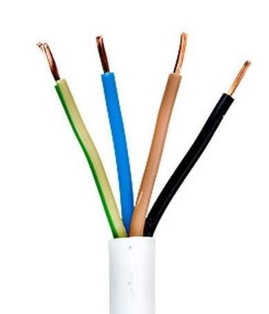 Силовой кабель провод шнур ПВС 4 * 1.0 ИЭК