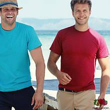 Мужские футболки однотонные Fruit of the Loom 61-082-0