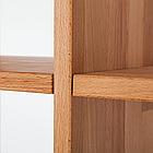 """Дерев'яний стелаж для книг """"Куб"""" у вітальню 3х5, фото 2"""