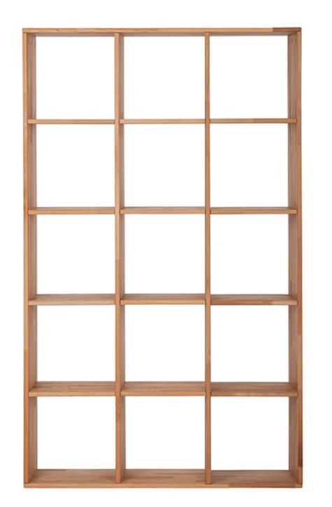 """Дерев'яний стелаж для книг """"Куб"""" у вітальню 3х5"""