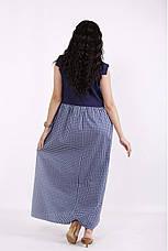 Сукня жіноча літнє довге розміри:42-74, фото 3