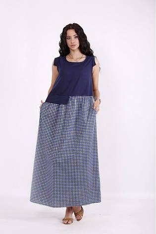 Сукня жіноча літнє довге розміри:42-74, фото 2