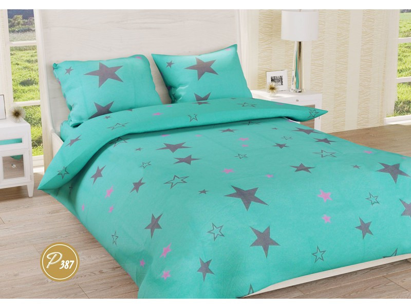 Комплект постельного белья Leleka-textile полуторный ранфорс арт.Р-387