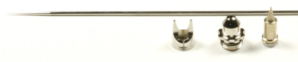 Набор сопло+игла Harder&Steenbeck Nozzle set 0.2mm fine line