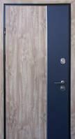 Двери входные металлические Пруф Hook Party BZ винорит Дуб сонома/вст. Антрацит 870 Дуб темный 850